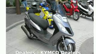 1. 2012 KYMCO Yager 200i -  Dealers Details Info Engine Top Speed Specification Transmission