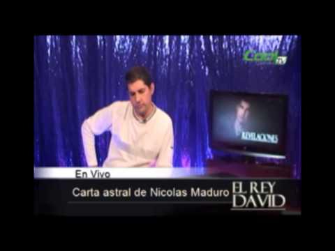 Rey David - Carta astral de Nicolas Maduro Parte I