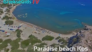 Dronevideo / Luchtvideo Paradise beach Kos - GriekseGids.TV