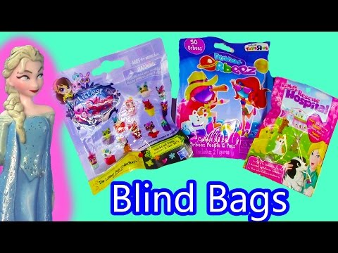 color - SUBSCRIBE: http://www.youtube.com/channel/UCelMeixAOTs2OQAAi9wU8-g?sub_confirmation=1 Disney Frozen Queen Elsa reviews 3 mystery blind bags, Littlest Pet Shop, Orbeez, and Animal Rescue Hospital...