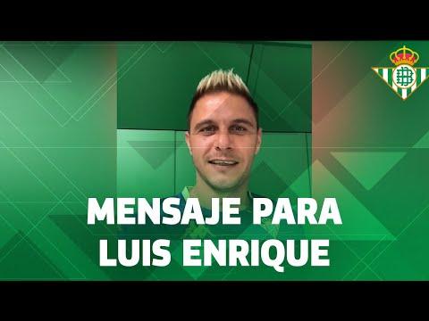 El mensaje de Joaquín a Luis Enrique