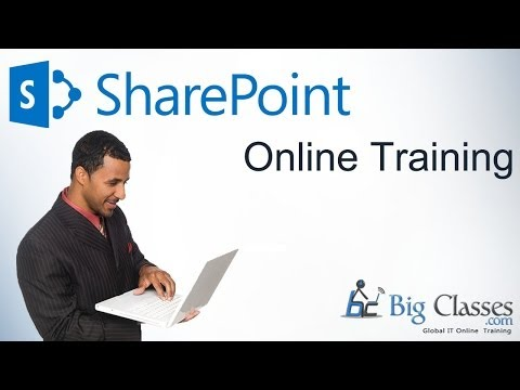 sharepoint demo - http://www.bigclasses.com/microsoft-sharepoint-online-training.html SharePoint online training from BigClasses is 100% job oriented with low fee from a real ...