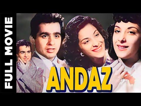 Video Andaz (1949) Hindi Full Movie | Dilip Kumar, Raj Kapoor, Nargis| Hindi Classic Movies download in MP3, 3GP, MP4, WEBM, AVI, FLV January 2017