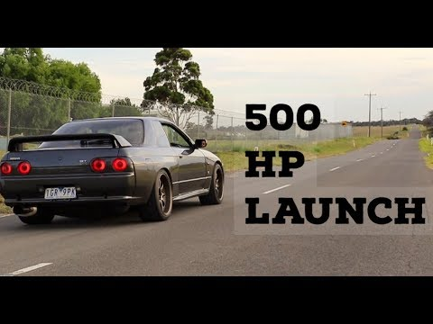 500hp R32 Gtr Crazy Launches, Screamer Pipe Heaven, R33 Burnout