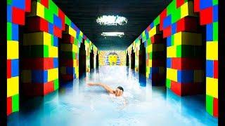 Video I Built A Secret Underground Lego Temple (With Swimming Pool) MP3, 3GP, MP4, WEBM, AVI, FLV Juni 2019
