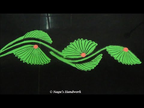 Border Rangoli DesignSimple Border Rangoli Design By N... Published by ...