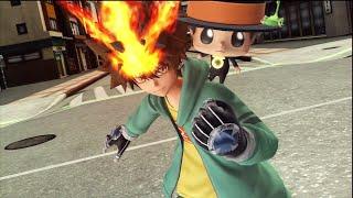 Katekyo Hitman Reborn Tsunayoshi Sawada J Stars Victory VS PS3 Moveset and Skills