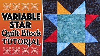 Quilting Blocks Tutorial: In this tutorial, we show you how to make the Variable Star Quilt Block using half square triangles. This is a quick and easy quilt block so perfect for a confident beginner.--FULL WRITTEN INSTRUCTIONS HERE--http://www.alandacraft.com/quilt-block-variable-star-quilt-block/Learn how to square up half square triangles here: https://youtu.be/eaFOk3ZKrQ0---WATCH MORE QUILT BLOCK TUTORIALS HERE---https://www.youtube.com/playlist?list=PLMxvvtt3Z3CKZx04rEe8Vod1SP1EX767l---FOLLOW US ON---Website: http://www.alandacraft.comFacebook: http://www.facebook.com/alandacraftPinterest: http://www.pinterest.com/alandacraft/Instagram: http://instagram.com/alandacraftTwitter: http://twitter.com/AlandaCraftTumblr: http://www.tumblr.com/blog/alandacraft