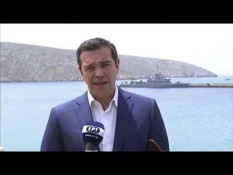 Πασχαλινή δήλωση στη ναυτική βάση Κυριαμάδι, Σητεία, 28/4/2019