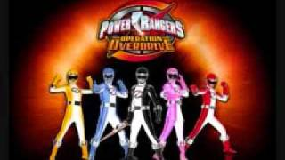 Power Rangers Operation Overdrive - Theme Song