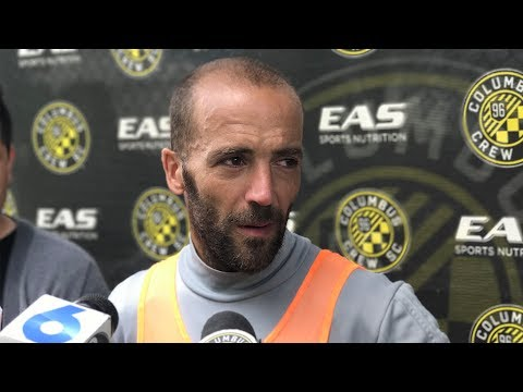 Video: SOUNDBYTE | Federico Higuain meets the media following Tuesday's training