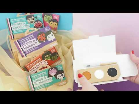 Produits Namaki : maquillage pour enfants ou de déguisement à l'eau certifiée bio