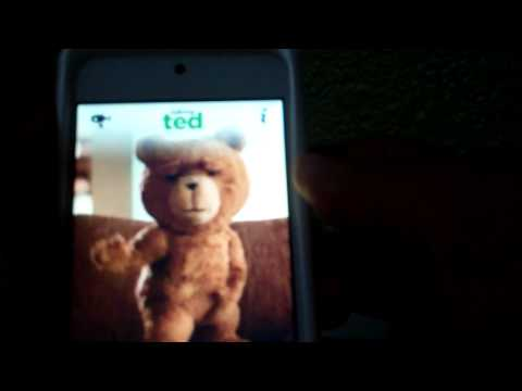 Talking Ted app review iphone, ipod touch, and ipad