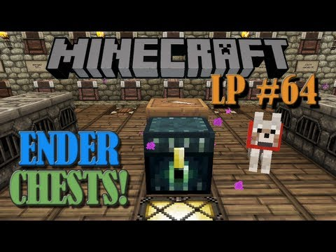 Ender Chests and Obsidian Generator - Minecraft LP #64