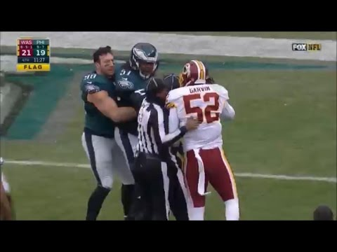 Best NFL Fights of the Season 2016-17 (видео)