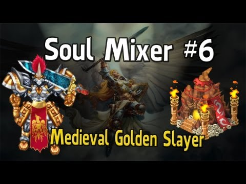 mixer - How to get the Medieval Golden Slayer from the Soul Mixer. By mixing Rainbow Dagon + Gladiator Mace.