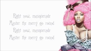 Nicki Minaj - Masquerade Lyrics Video