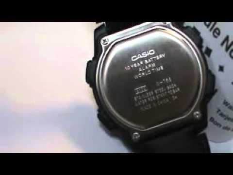 Rare Vintage Deal Casio Men's W756B-1AV Digital Sport Watch World Timer C Video!
