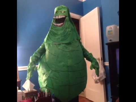 Video Ghost Busters Slimer Halloween Costume Unpacking!! download in MP3, 3GP, MP4, WEBM, AVI, FLV January 2017