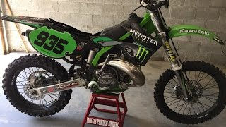 7. KX 250 Beastly Build! How to Transform a  Motocross bike to a Woods Dirtbike