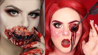 Video Special Effects Makeup Transformations 2018 | Halloween SFX Makeup Tutorials MP3, 3GP, MP4, WEBM, AVI, FLV Juli 2019