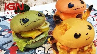 Aussie Chef Creates Limited Run of Pokemon Burgers - IGN News by IGN
