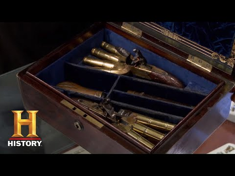 Pawn Stars: HIGH PRICE for VERY RARE Duck Foot Pistols (Season 12)   History