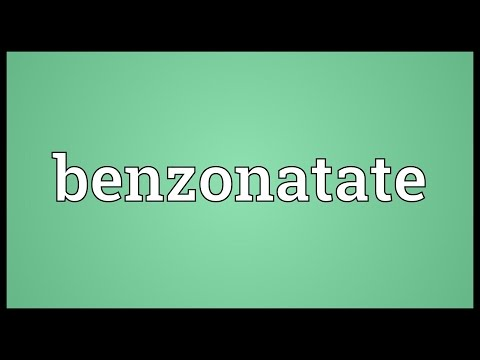 Benzonatate Meaning