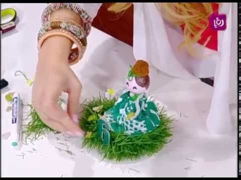 سابا - فاي سابا - اخصائية الحرف اليدوية تزين خلال دنيا يا دنيا كيكة أعياد ميلاد الأطفال. http://www.roya.tv/ http://www.facebook.com/Donya...