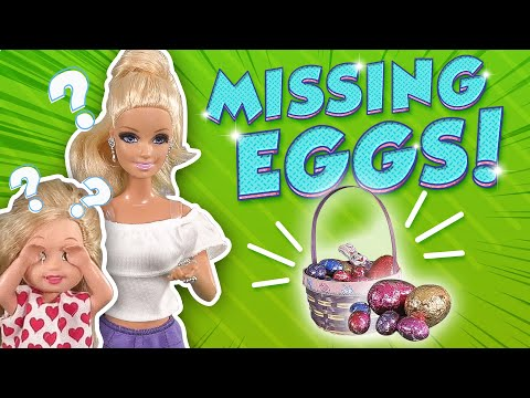 Barbie - Who's Stealing the Easter Eggs? | Ep.156 (видео)