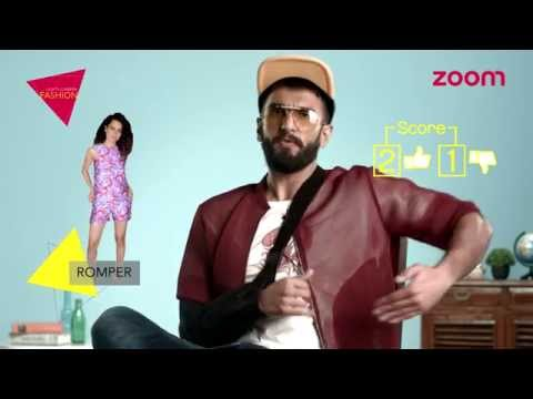 Ranveer talks fashion!