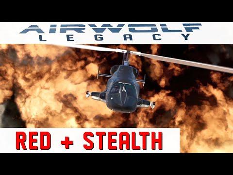 AIRWOLF LEGACY - 2 episodes - RED & STEALTH