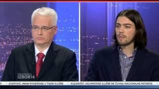 NovaTV   22 12 2014    Sučeljavanje predsjedničkih kandidata