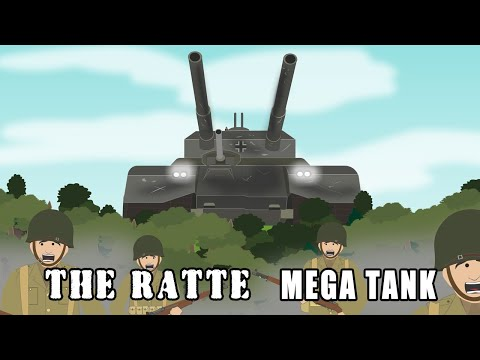 The Ratte - The Biggest Tank Ever Designed