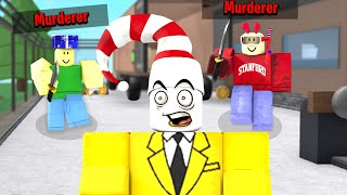 Murder Mystery but there is TWO Murderers.. (Roblox Murder Mystery 2 Funny Moments)