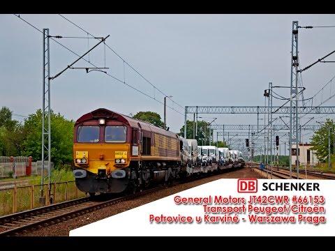 Class 66153 | Petrovice u Karviné – Warszawa Praga | DB Schenker Rail Polska | Bednary 24/07/2014