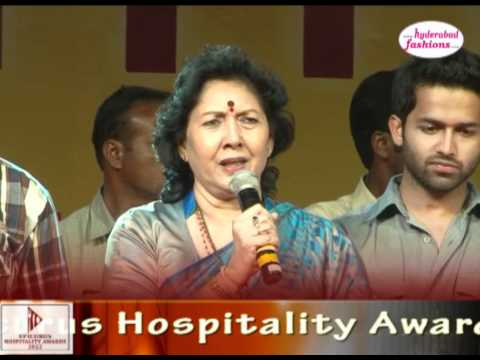 Minister for Major Industries J.Geetha Reddy Speech in Epicurus Hospitality Awards 2012