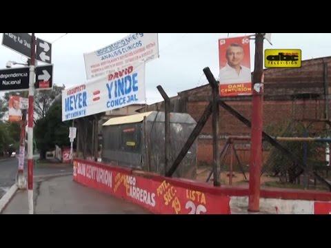 Limpiarán Asunción de propaganda electoral