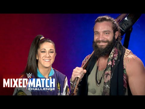 Bayley & Elias stand up for Americares in WWE Mixed Match Challenge