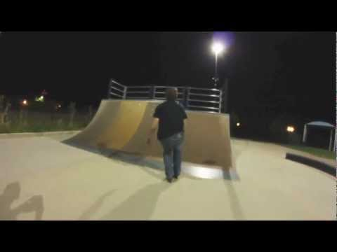 Late Night at Des Plaines Skatepark