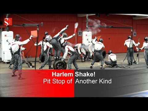 sauber - The first Harlem Shake by a Formula One team - in pit stop style! Enjoy! Could this be the best Harlem Shake in sports? Who else has a F1 car joining in!? Th...