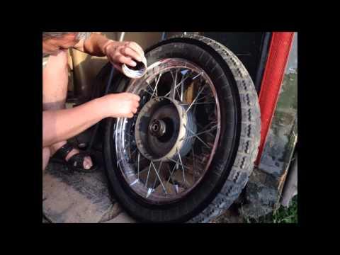 Чем покрасить колеса своими руками 23