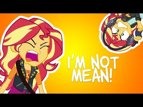 2 Minutes of Sunset Shimmer's Anger Issues
