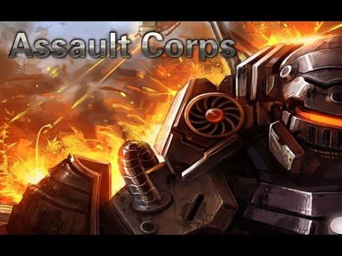 Assault CorpsI -  Отличная стратегия в реальном времени на Android(Review)