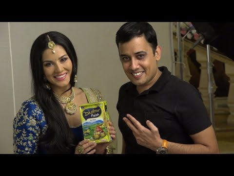 BalaJi Creators Shoots With Sunny Leone In Their Next Commerial For Dholpur Fresh Desi Ghee