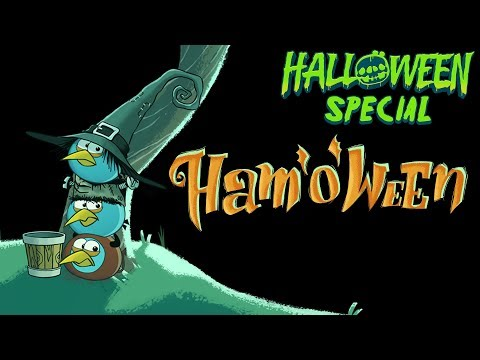angry - Angry Birds presents a spooky Halloween adventure! The Blue Birds are out trick-or-treating when they run into a big surprise -- the newest Angry Bird! He st...