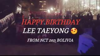 Jun 30, 2017 ... 170701 Happy Birthday Taeyong~~~♡ by NCTZen Bolivia. NCT BOLIVIA. nLoading... Unsubscribe from ... The Compilation of people dumbstruck by nUNREAL HANDSOME LEE TAEYONG (NCT): Visual on Another Level - Durationn: 7:57. jouji toru 304,731 views · 7:57. [ENG] Taeyong who is obsessed by ...