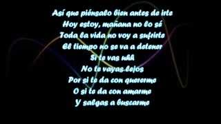 Wisin FT Gocho SI TE VAS CON LETRA YouTube