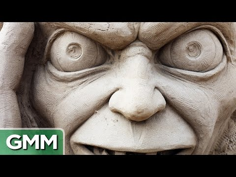 internet - We look at some incredible sand sculptures that we found on the internet. GMM #489! Good Mythical MORE: http://youtu.be/BvSzRKLZFQE SUBSCRIBE for daily episodes: http://bit.ly/subrl2 ****...