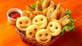Best and easy smiley potatoes ***My Kitchen***